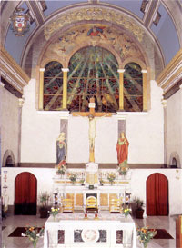 Holy Cross Catholic Church - the Altar